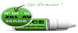 E-Liquide Menthe fraiche - Dlice