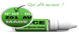 E-Liquide Menthe Verte - Dlice