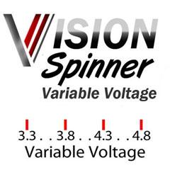 vision spinner batterie